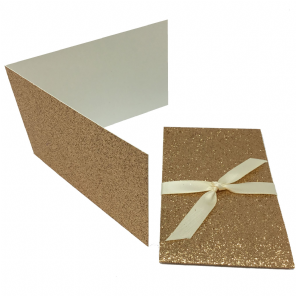 Glitter Coffee Scratch Card Wallet Kit